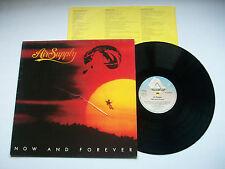"AIR SUPPLY - Now & Forever -  German 12"" Vinyl LP Record EX+/VG"