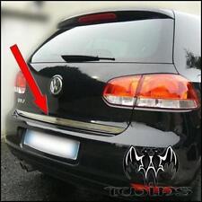 Striscia cromata portellone SPECIFICA VW Golf 6 VI baule bagagliaio ACCIAIO