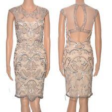 Embellished paisley dress Miss Selfridge sequins beads 20s  gatsby vintage style