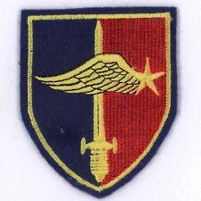 Tissu Commando de l'air Villacoublay bordure bleue