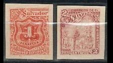 Salvador ALL Imperf Sc 147 PAIR 150 BL4x2 157c BL4 DOUBLE OVPT 213 214 216 FVF