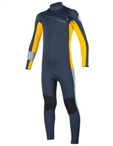 RIP CURL Youth 3/2 Junior AGGROLITE Chest-Zip Wetsuit - SLT - Size 10 - NWT