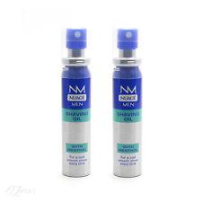New Nuage Men Shaving Oil with Menthol 25ml 2 Pack