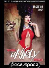 (WK50) VAMPIRELLA / DRACULA: UNHOLY #1F - COSPLAY - PREORDER DEC 15TH