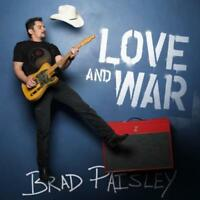 BRAD PAISLEY Love And War CD BRAND NEW