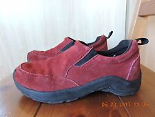 Cabela's Women's Red Suede Upper Camping/Walking Shoes 7.5