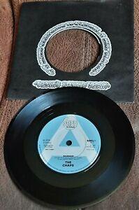"THE CHAPS RAWHIDE  1982 7"" SINGLE STIFF PROMO"