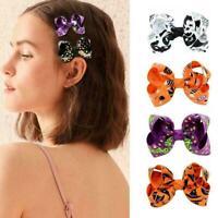 Hairpin Cloth Hair Pin Bowknot Halloween Hair Clip Headdress For Children S V5G5