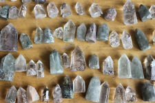 20 Pieces 1LB Natural Phantom Ghost Quartz Crystal Points Polished Healing