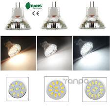 1X 6X светодиодный прожектор лампы MR11 GU4 2 Вт 3 Вт 4 Вт 5733 Smd 12-24 В яркий белый лампа