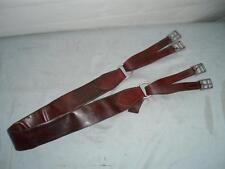 "Vintage Italian Leather ""MONTURAS LUCAS TALAVERA Humane Horse Girth.60"".152 cm."