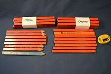 New Listingshop Mechanic Tool Wooden Pencils 40 Countplus Sharpener New Amp Usedred