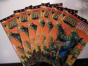TEENAGE MUTANT NINJA TURTLES / SAVAGE DRAGON CROSSOVER MIRAGE - lot of 6 comics