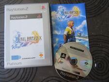 FINAL FANTASY X 10 -  JEU PLAYSTATION 2 PS2 COMPLET