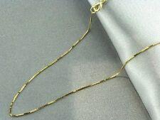 catenina in oro giallo 18kt,nuova con garanzia di autenticita',45cm .