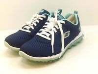 Skechers Women's Shoes Fashion Sneakers, Blue, Size 7.0 exCt