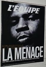 EQUIPE MAGAZINE N°965 2000 BOXE TYSON RUGBY ALL BLACKS MOTO JACQUE FOOTBALL LYON