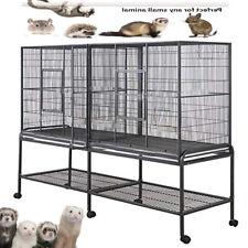 Xlarge Double Divider Cage Guinea Pig Ferret Sugar Glider Chinchilla Ferret Rat