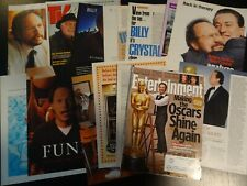Billy Crystal  20+ full pages   Clippings