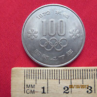Japan - 100 Yen 1972 - Olympiade - Jahr 47 - Saporo - III