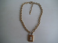 """Magnifique collier original """"AGATHA"""" vintage necklace"""