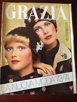Rivista Magazine - Grazia 2 Settembre 1973 n.1697 Noschese Zanicchi