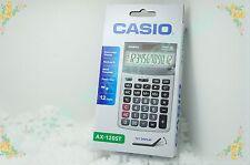 CASIO AX-120ST Multi Functional 12 Digital Calculator Dual Power Solar BATTERY