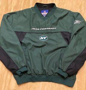 New York Jets VINTAGE Reebok NFL Team Apparel Pullover Jacket