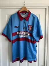West Ham United Centenary Away Shirt Pony Dagenham Motors 1995/1997 SIZE XL