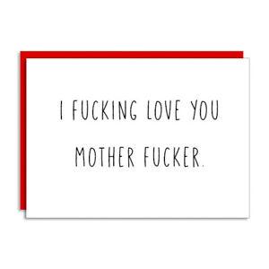Funny Humor Naughty Sarcastic adult Greeting Card Happy Birthday Anniversary
