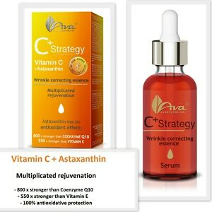Ava Laboratorium C+ Strategy Wrinkle Correcting Essence Gel Serum Vitamin C 30ml