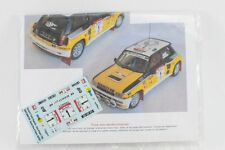 DECAL CALCA 1/43 Renault 5 Turbo #1 J. Ragnotti Rally Costa de Marfil 1982