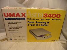 Umax Astra 3400 scanner