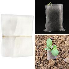 100 stk Pflanzen Faser Nursery Topf Setzling Anhebung Tasche Umweltschutz Nett