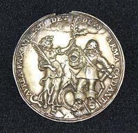 Medaille auf den Westfälischen Frieden, Dreizigjähriger Krieg 1648 RAR