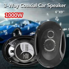 6''x9'' 2PCS Coaxial Car 1000W Sound Stage Speakers Series 3-WAY Audio