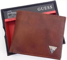 GUESS Naples Bifold Walle Tan Brand New With Tag In Retail Package 0091-0653/04