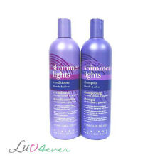 Clairol Shimmer Lights Shampoo and Conditioner 16 oz (Combo)