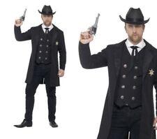 Herren sheriff-kostüm Cowboy Western Kostüm Outfit L-XXL
