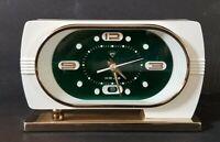"Vintage Shanghai China Diamond Alarm Clock 7"" Long"