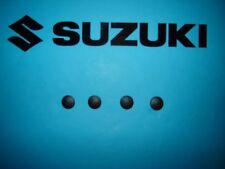 Suzuki Bandit GSF600 600 GSF1200 1200 Grab Rail Bolt Covers Black FREEPOST