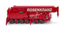 """WIKING Modell 1:87/H0 Autokran Grove TM 1100E - """"Rosenkranz"""" rot #063204 NEU/OVP"""