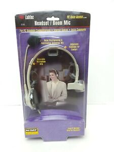 LABTECH DELUXE PC HEADSET with BOOM MIC VINTAGE NOS 1996 NIP PC GAMING