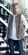 NWT Banana Republic Faux Fur Vest XS