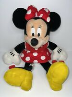 "15"" Disney Minnie Mouse Plush Doll - Stuffed Toy Authentic Licensed- RED"