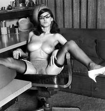 8x10 Print Sexy Model Pin Up Brunette Lillian Parker by Vogel 1968 #M139