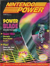 #23  NINTENDO POWER video game magazine POWER BLADE