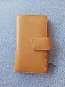 Status Anxiety Tan Leather Wallet