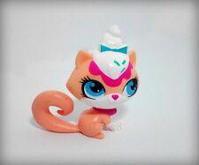 LPS Littlest Pet Shop Fox white rose cute figure girl toys
