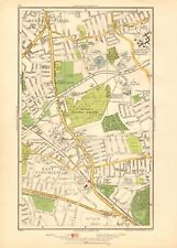 1936  LARGE SCALE VINTAGE LONDON MAP EAST FINCHLEY, FORTIS GREEN, NORTH FINCHLEY